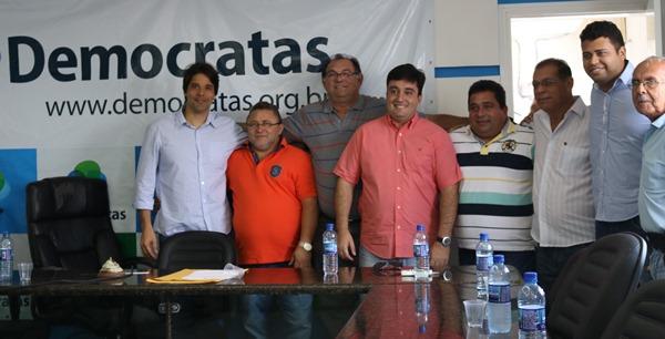 Deputado FElipe Maia participa da Convenção do Democratas em Touros