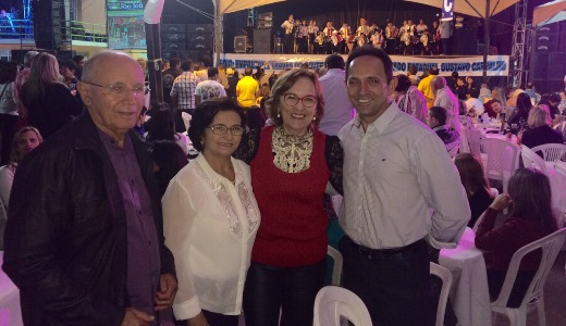 Deputada federal Zenaide participa de evento em Cerro Corá