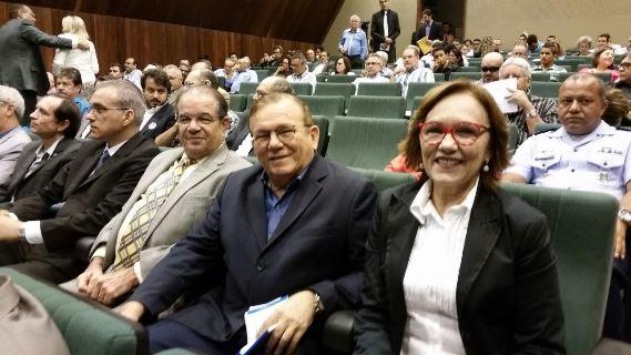 Deputada Zenaide e prefeito Jaime Calado participam de Seminário Motores do Desenvolvimento