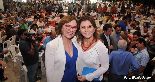 Deputada Zenaide e Shirley Targino