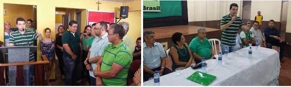 Convenções do PMDB em Riachuelo e São Paulo do Potengi