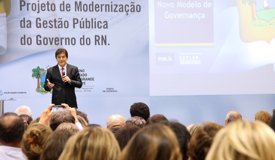 Lançamento do Projeto de Modernização da Gestão Pública