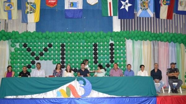 Solenidade de abertura dos Jogos Escolares, regional de João Câmara