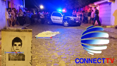 Local onde  aconteceu o crime(foto: Connectv)