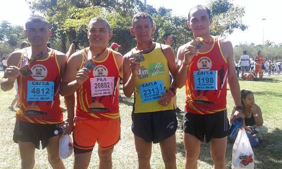 Parazinho presente na XIX Meia Maratona Internacional do Rio de janeiro