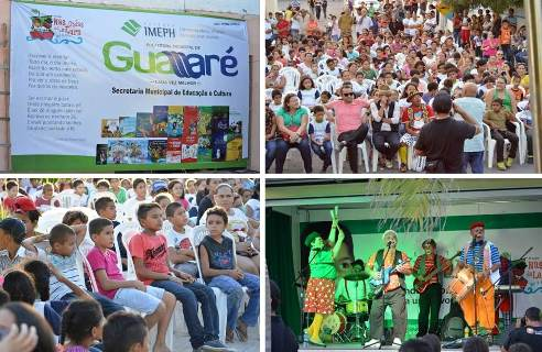 Projeto Ondas da Leitura movimenta classe estudantil de Guamaré