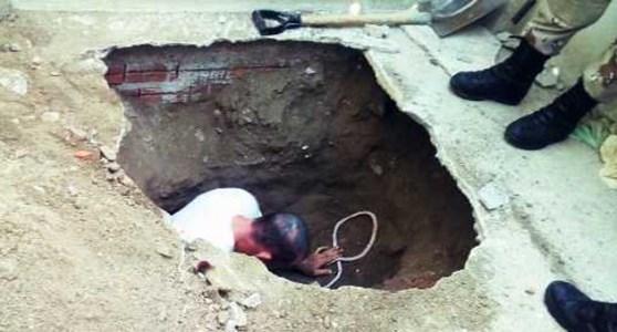 Tunel descoberto no presídio de Caicó
