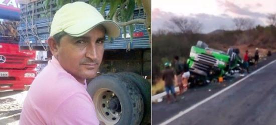 Caminhoneiro morreu preso as ferragens
