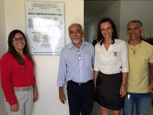 Secretário Francisco das Chagas em inauguração da sede da 5ª Direc