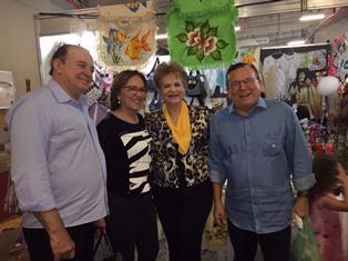 Deputada Zenaide com o prefeito Jaime, a ex-governadora Wilma e esposo