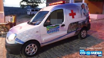 Ambulância alvo da bandidagem