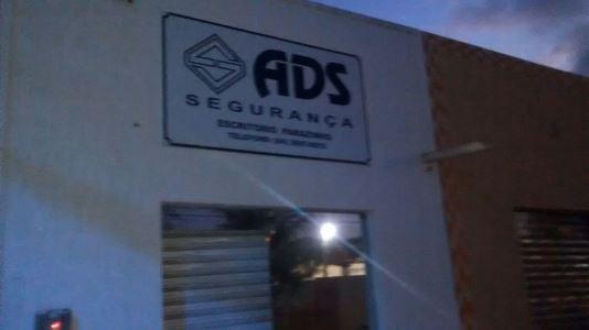 Escritório de empresa de segurança ADS também foi alvo dos bandidos