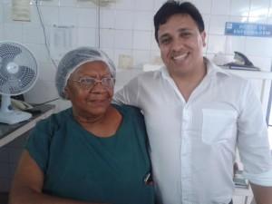 Enfermeira Noêmia e Doutor Carlos André