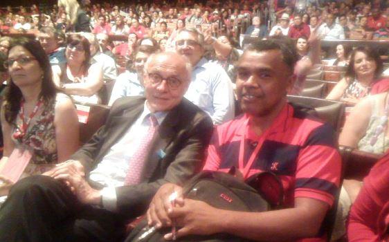 Renda no Congresso da CUT em São Paulo