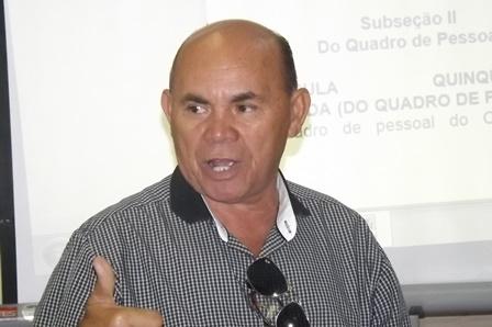 Canindé Xavier, secretário de Meio Ambiente de Parazinho