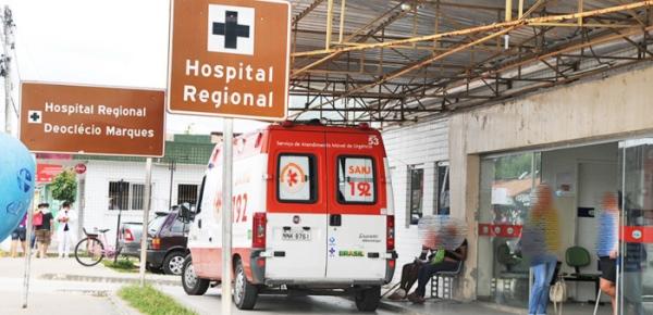 Hospital Regional Deoclécio Marques em Parnamirim
