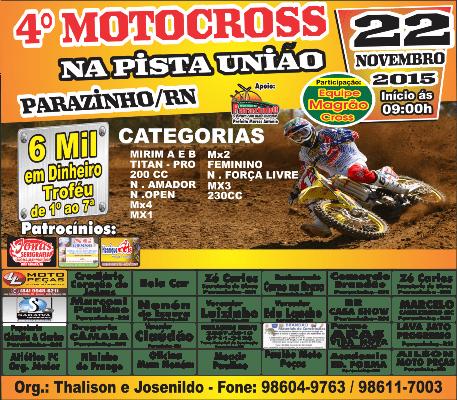 PANFLETO motocross