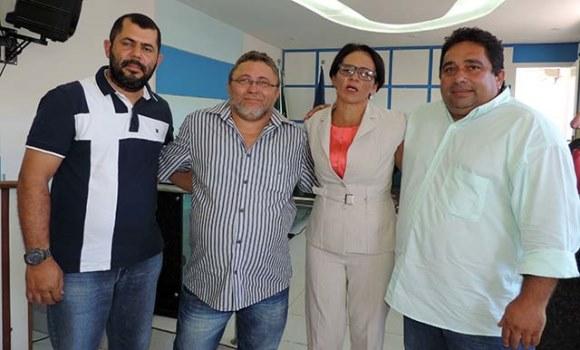 Vereadores de oposição: Flávio de Tetê, Francisco Vieira, Professora Bel e Virgílio Câmara