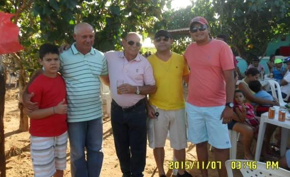 Festa de aniversário do pré-candidato a vereador Canindé Xavier na zona rural de Parazinho