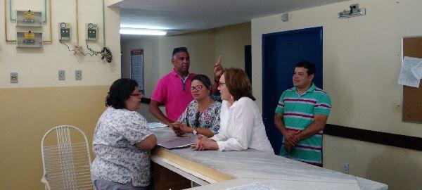 Deputada Federal, Zenaide Maia visita Hospital Regional de Ceará-Mirim