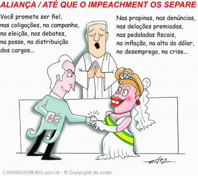 Charge de Edra (Dia´rio de Santa Catarina)