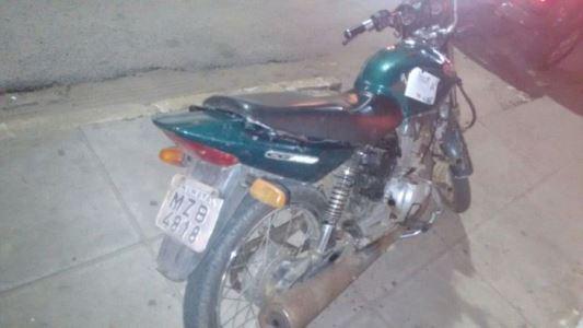 GTO recupera moto com queixa de roubo