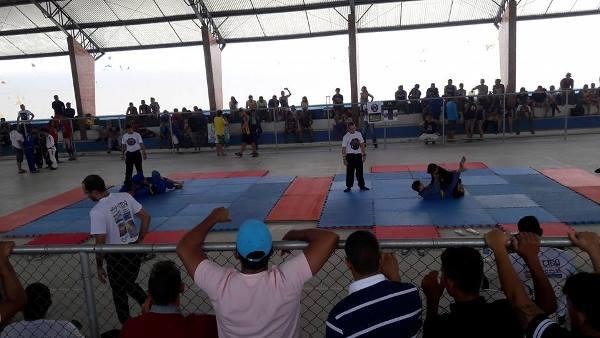 Maurício e Holderlin prestigiam o 1º Tremores Combat Jiu Jitsu