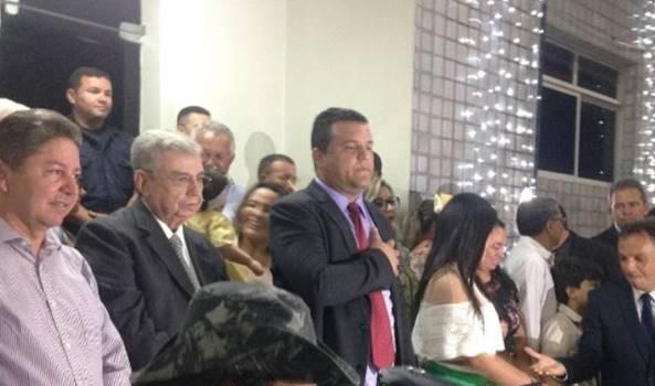 Solenidade de posse do prefeito Hélio Willamy e da vice-prefeita Iracema