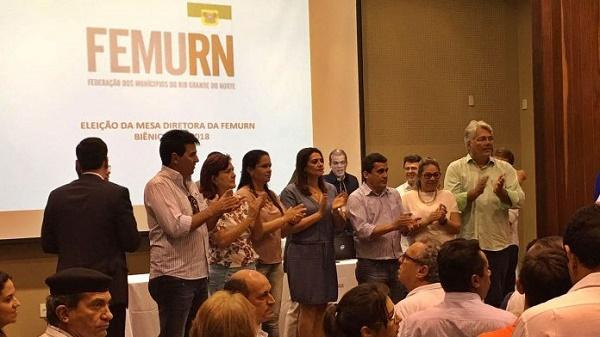 Prefeita Suely está na chapa vencedora para presidência da Femurn (Foto: Francisco Dehon)