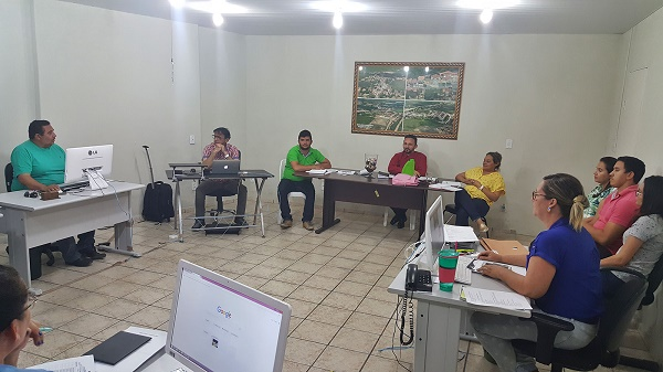 Suely realiza primeira reunião com secretários para definir metas para nova gestão (Foto: Sezimar)