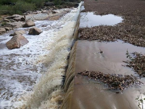 Segunda barragem a sangrar em Serra Negra do Norte