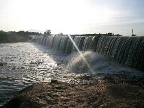 Barragem do Arapuá em Serra Negra do Norte (fotos: WhatsApp)