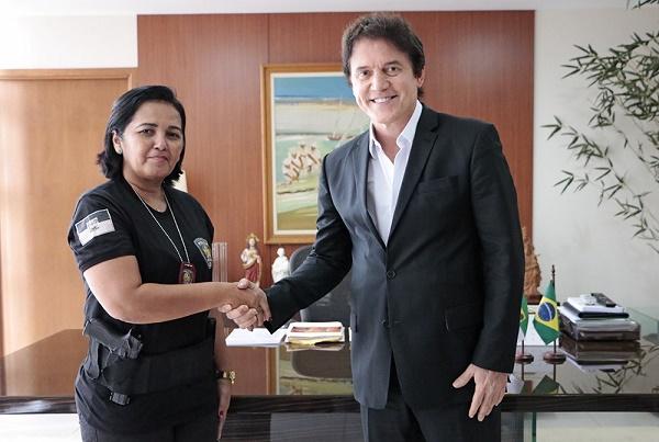 Delegada Sheyla Freitas -