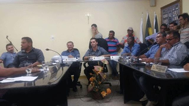 Sessão da Câmara Municipal de Jundiá