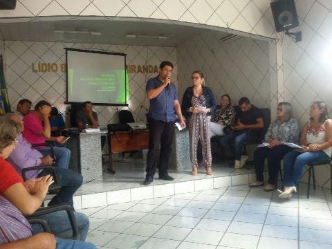 Prefeito Júnior Marques participa de evento da saúde
