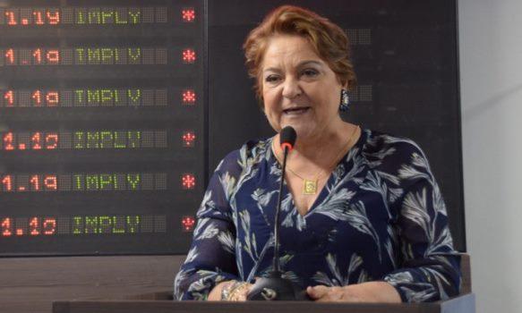 Ex-deputada e atual vereadora em Mossoró Sandra Rosado (PSB)