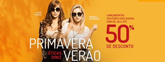 Promoção Primavera Verão nas ÓTICAS DINIZ – João Câmara 673a5bddfb