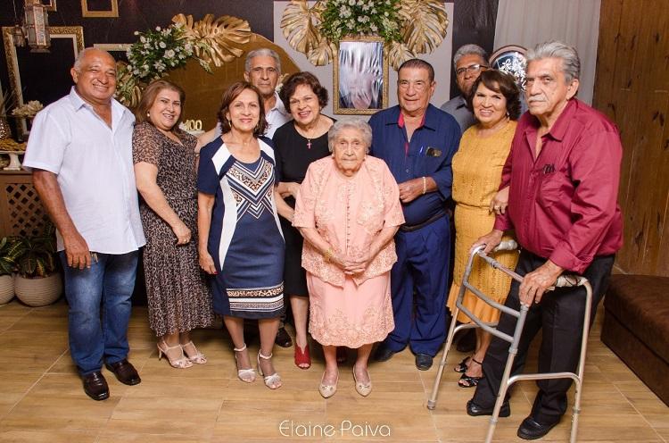 Resultado de imagem para Família Celestino comemora o Centenário da Matriarca Maria de Lourdes