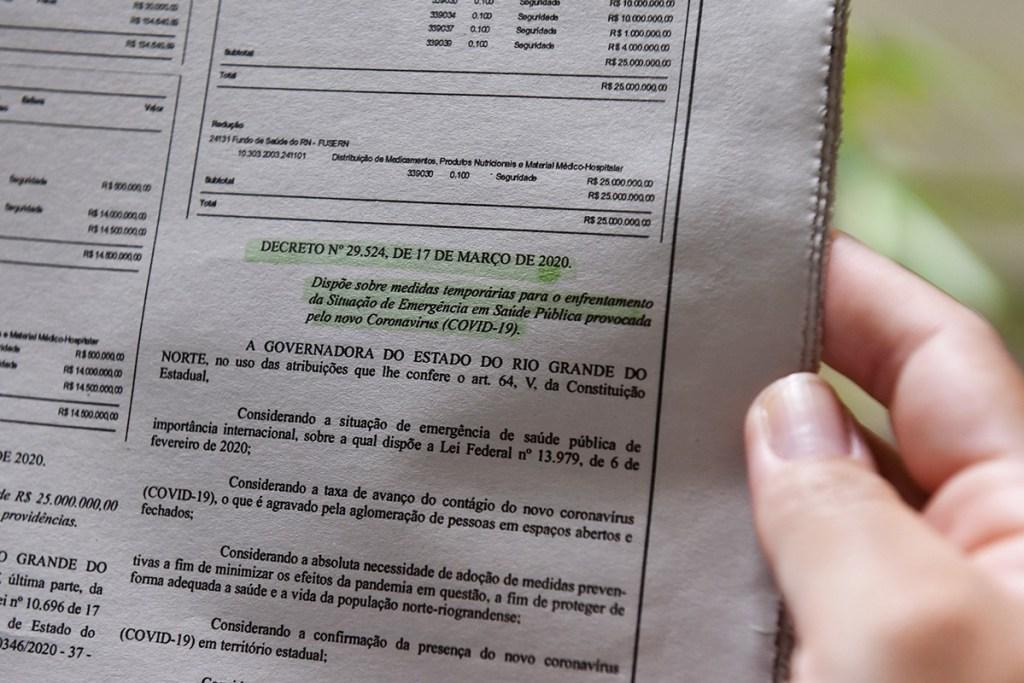 Resultado de imagem para Decreto Estadual disciplina suspensão de várias atividades no RN