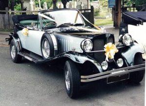 Un ejemplo de coches para bodas que puedes elegir