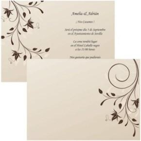 Invitación de Boda Siena