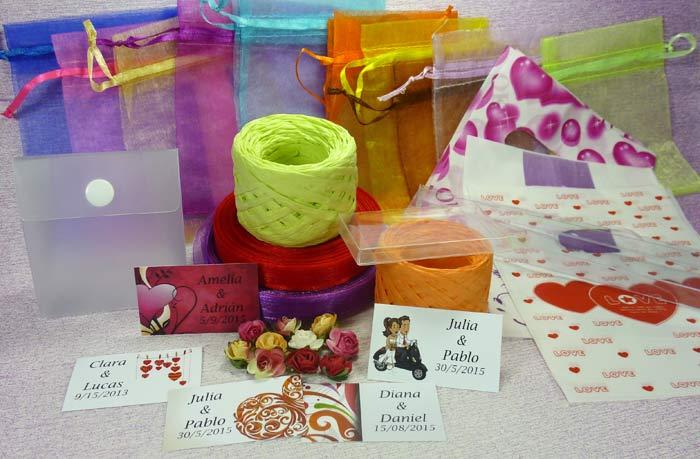 Ideas y complementos para decorar detalles de boda