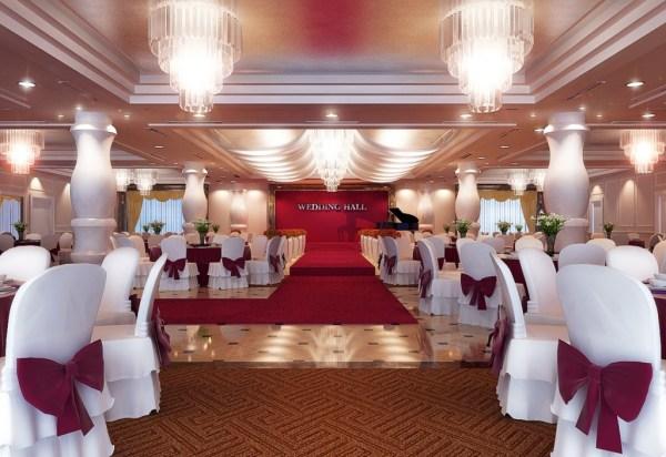 Salones de boda en rojo