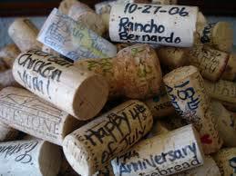 Tapones de Vino firmados para Bodas