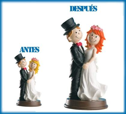 Figuras de tarta personalizadas