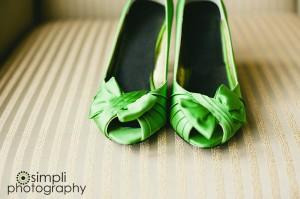 Zapatos Verdes para bodas