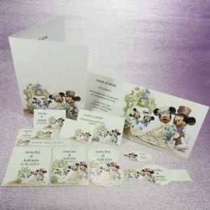 Diseño de Mickey para invitaciones y detalles