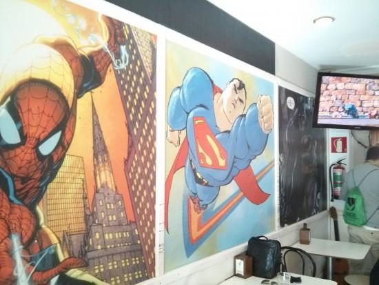 Las paredes del Arkupe.
