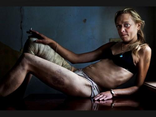 prostituée ukrainienne toxicomane