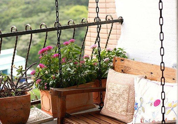 Câteva idei de amenajare a balconului